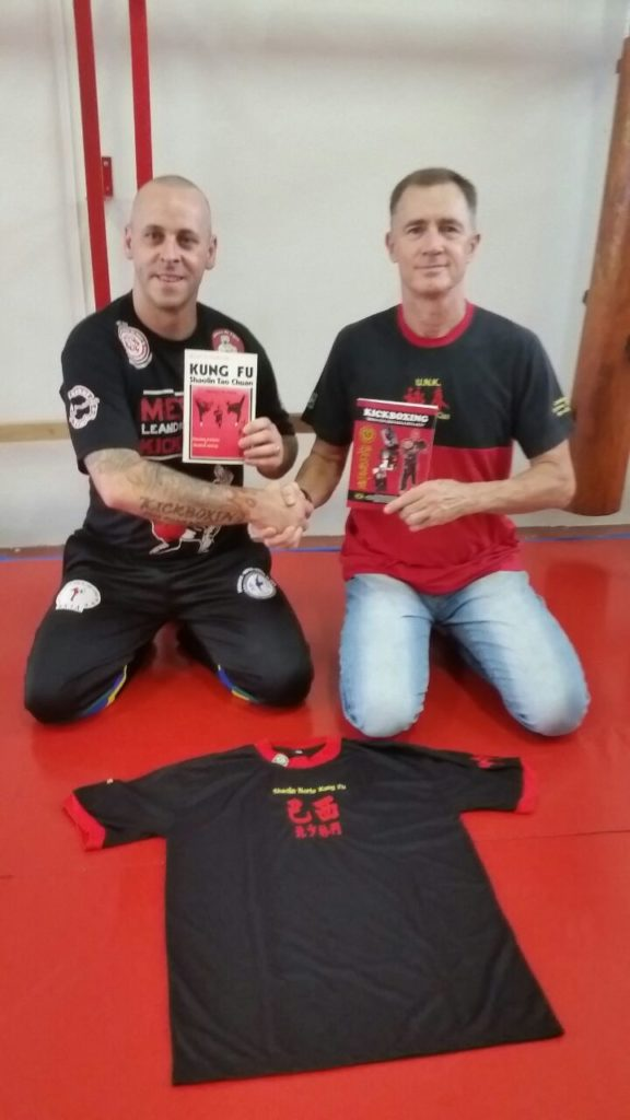 Visita do mestre Leandro da Costa