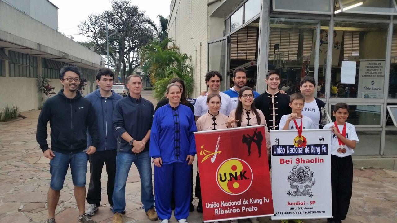 Equipe U.N.K. no 11º Festival de Shaolin do Norte