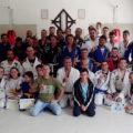 Visita à filial da Associação Lótus Club de Caieiras (SP) do Sensei Milton Brizola