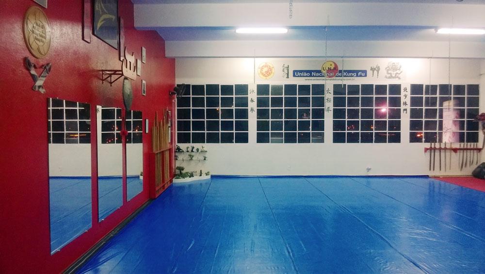 Academia da União Nacional de Kung Fu em Jundiaí