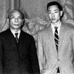Yim Seung Mo e Mestre Chan Kowk Wai