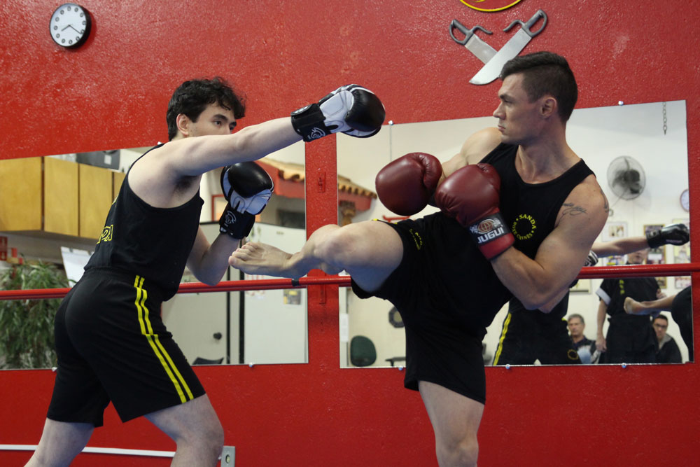 Boxe chinês - Sanda