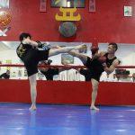 Chutes circulares no boxe chinês