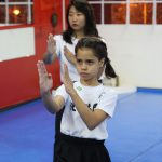 Defesa pessoal feminina - Postura de luta