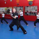Kung Fu infantil - Treino de formas