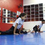 Kung Fu infantil - Alongamento