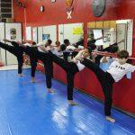 Kung Fu infantil - Treino de chutes
