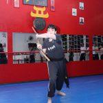 Treino com San Tie Gun no Shaolin do Norte