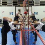Treino de chutes infantil no Shaolin do Norte