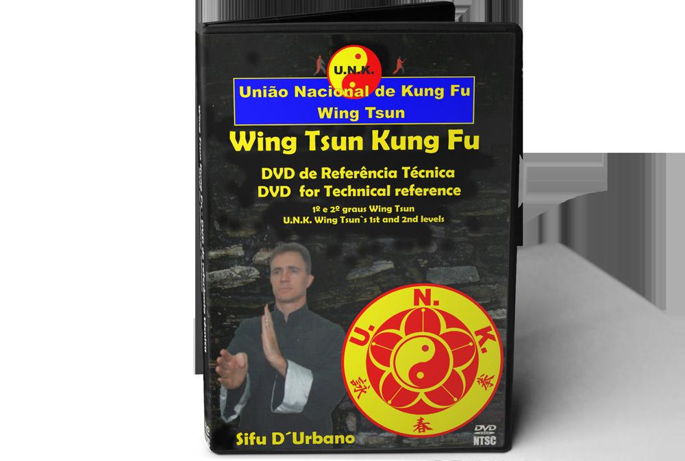 DVD de Referência Técnica de Wing Tsun